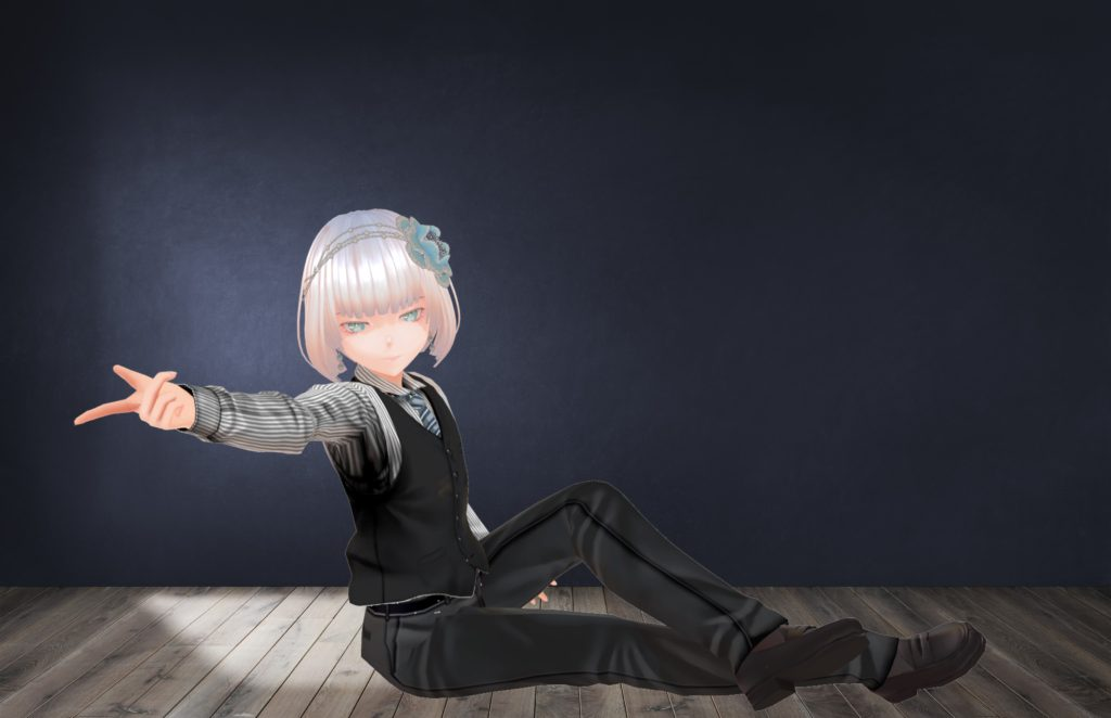 三つ揃いスーツB【VRoid】……KI_MOTOR様(https://twitter.com/ki_motor)