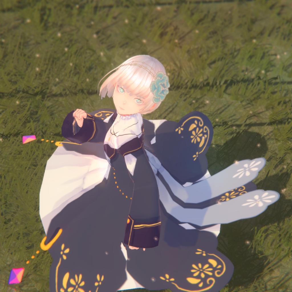 VRoid用衣装テクスチャ【4色セット】……sweettime様